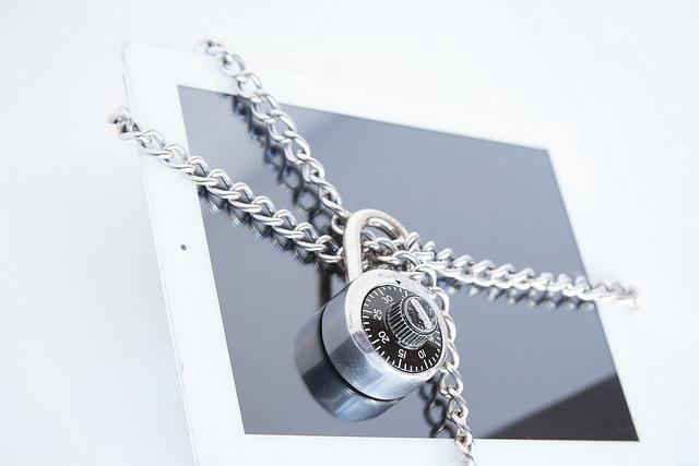 ISO 27001 informatiebeveiliging slot