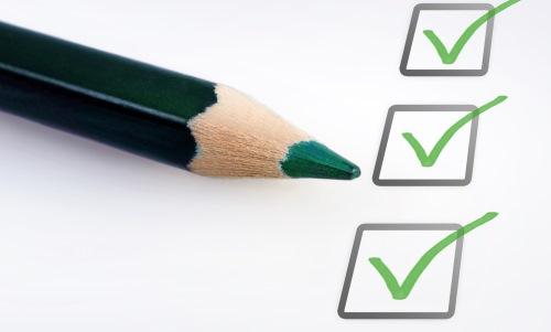 Checklist ISO certificering