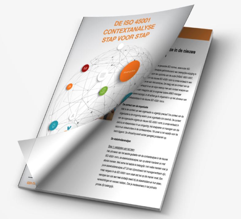 Contextanalyse ISO 45001 white paper