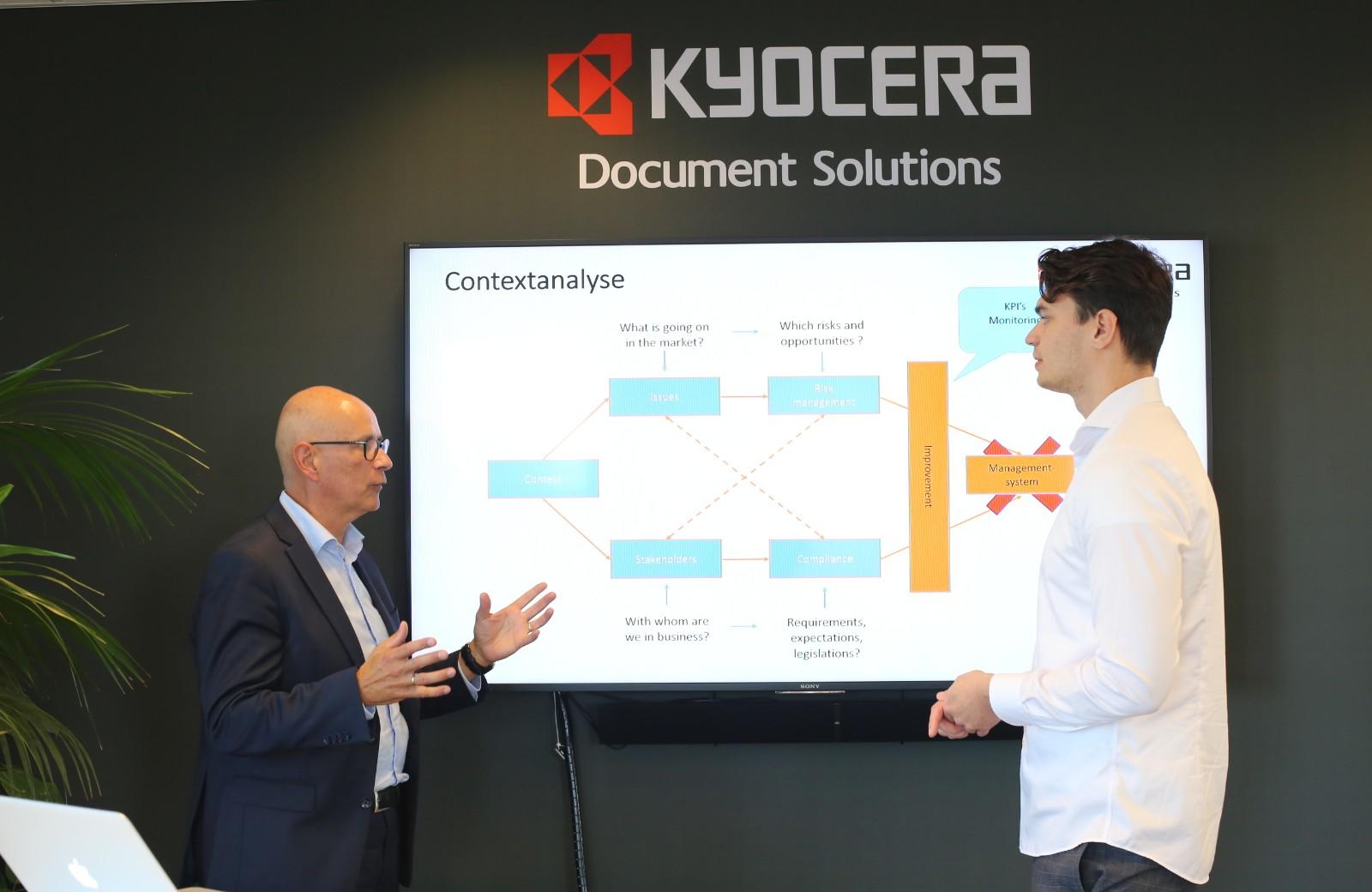 Presentatie Kyocera