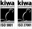 ISO 9001 en ISO 27001 certificering