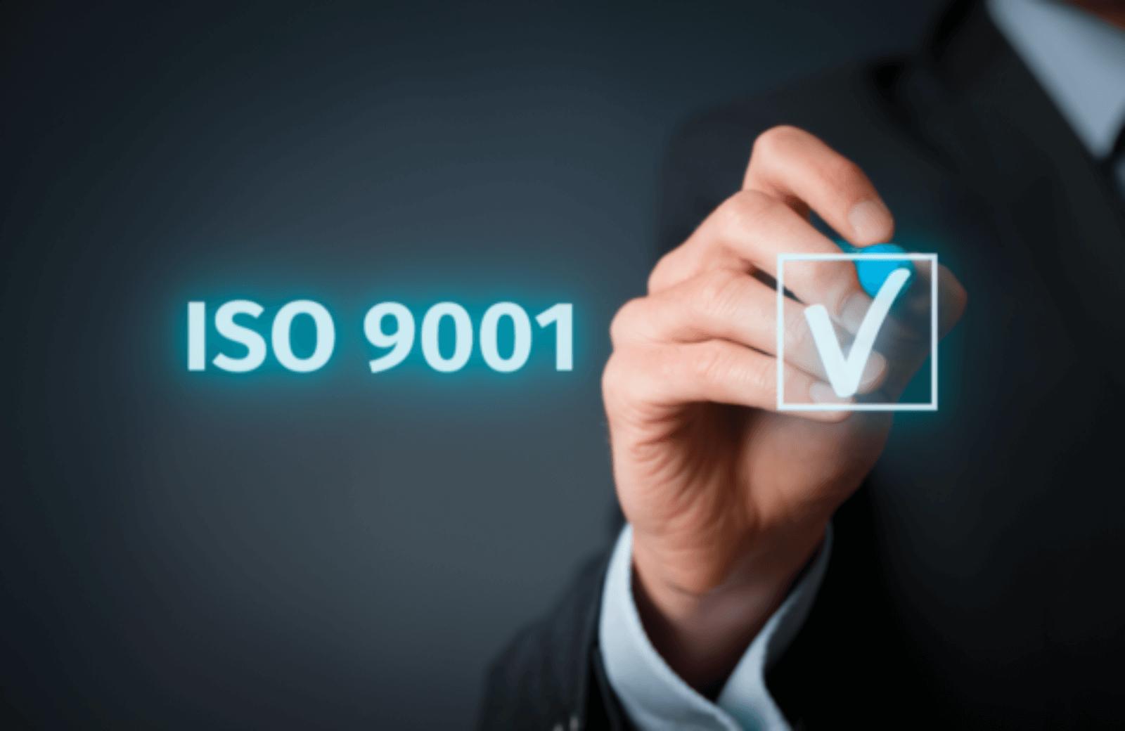 ISO 9001 verplicht